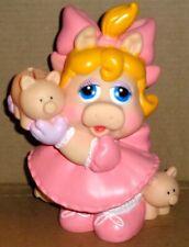 Vintage Muppet Babies Baby Miss Piggy Bank