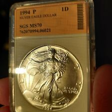 1994 Silver Eagle Dollar SGS MS