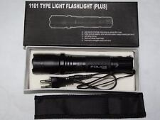 HOT SALE FLASHLIGHT police Electro Shock NEW LED   60 MILLION VOLT gun