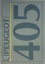 Peugeot 405 Sales Brochure 1992 - inc Mi16