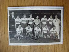 "30/03/1951 Argentina Juvenil Fútbol: 7""x 5"" Original fotografía de prensa, Córdoba T"