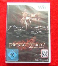 Project Zero 2 Wii Edition, Nintendo Wii Spiel, Neu, deutsche Version