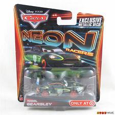 Disney Pixar Cars 2014 Neon Racers - Nigel Gearsley - exclusive metallic deco