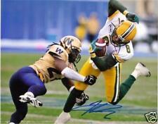 Kamau Peterson CFL Signed Photo Edmonton Eskimos
