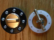 Betankungs/Tankventil/Tank valve mit Griffdeckel kein Werkzeug nötig in schwarz
