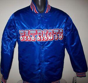 New England PATRIOTS Throwback Style STARTER NFL Jacket  M L  2X