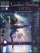 Lindsey Stirling Hits Violin Play-Along Sheet Music Book/Audio