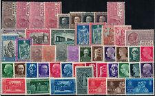 Kleines Lot (49 Werte) Italien 1927-1930 ungebraucht mit Falz -2141-