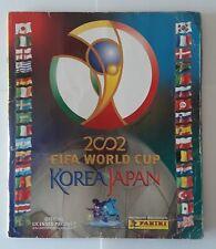 Fifa World Cup 2002 Korea Japan Panini Album Figurine Completo