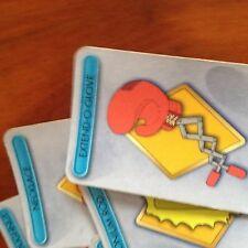 Cluedo JUEGO 'Los Simpson's Edition. juego completo de armas tarjetas. Original Hasbro PA