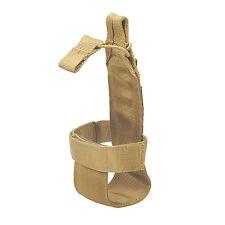 Tactical Hiking Molle Water Bottle Holder Belt Carrier Pouch Nylon Bag Khaki