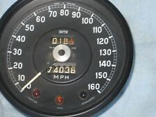 Original Speedometer and Tachometer removed from a 1962 Jaguar E-Type.