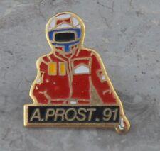 Pin's Alain Prost, 1991