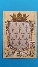 FRANCE CARTE MAXIMUM YVERT 573 ARMOIRIE BRETAGNE 10F RENNES 1944 L 465