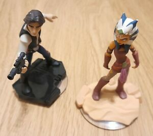 2 x Disney Infinity Characters Figures 3.0 Star Wars INF-1000203 + INF-1000207