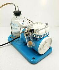 Schuco Vac 5711 130 Aspirator Medical Suction Pump W Orig Glass Evac Jar Tested