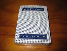 Crown Casino Poker, Blackjack playing cards.