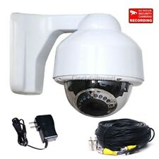 700TVL Dome Security Camera Outdoor IR LED Night 3.5-8mm Varifocal Zoom Lens crk