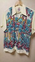 SUN SURF aloha shirt Duke Kahanamoku M size with box used