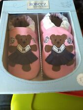 Robeez Toddler Girls Soft Soles Shoes Size 2 - 3 yrs Pink