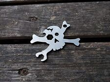 Picaroon Tools - Cracked Skull EDC pocket tool multitool bottle opener bones