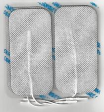 8x (2 packs 4) 10cm x 5cm Reusable Self Adhesive Electrodes Pads for TENS BNIP