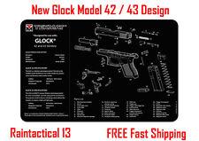"""Glock 42 & 43 Tek Mat Armorers Gun Cleaning Mat 11""""x17""""   NEW !"""