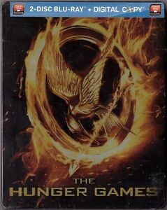 The Hunger Games - Mockingjay Edition SteelBook [Blu-ray + Digital, 2-Disc] NEW