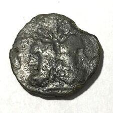 Ancient Greek, Sicily, Panormos, AE. 241 BC. Janus, Wreath