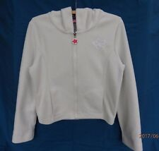 Jay Jays Cream Polar Fleece Hoodie Jacket  - Size M - Pre-owned (Girl's?)
