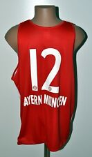 NBA BAYERN MUNICH BASKETBALL SHIRT JERSEY ADIDAS #12 SIZE XXL ADULT
