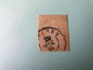 Timbre de Suisse 1854/62 n°29a oblitéré ND