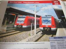 Portrait N 999.2 5544 München Laim Petershausen S Bahn 4S