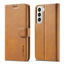 For Samsung S21 Ultra S21 Plus Magnetic Wallet PU Leather Flip Stand Cover Case