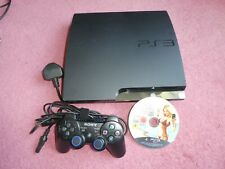 Playstation 3 PS3 Slim 120GB Console With Leads