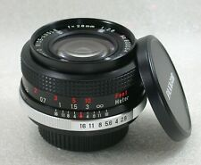 Panagor PMC 28mm F2.8 Manual Focus Wide Angle Lens Pentax Screw / M42 No. 800054
