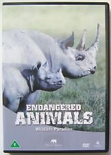 ENDANGERED ANIMALS DVD MOVIE WILDLIFE PARADISE The Safari Collection