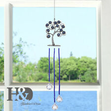 Window Hanging Life of Tree Ornament Crystal Ball Decor for Car Home and Office