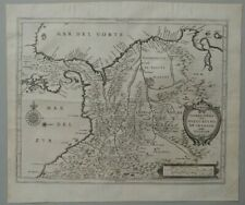 Colombia old map Joannes De Laet