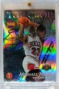 1996 96-97 Stadium Club Top Crop Michael Jordan Gary Payton #TC9, Rare MJ Insert