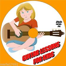 GUITAR LESSONS FOR CHILDREN SIMPLE STEP BY STEP GUITAR TUITION VIDEO DVD NEW