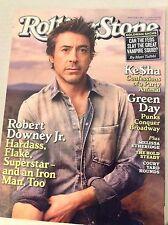 Rolling Stone Magazine Robert Downey Jr. Ke$ha Green Day May 13 2010 051717nonrh