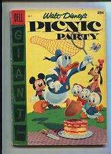 Dell Giant Walt Disney'S Picnic Party #7 (7.0) File Copy!