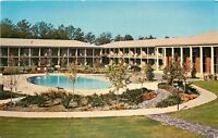 Stone Mountain Park Georgia~Stone Mountain Inn~Pool~1960s Postcard