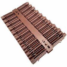100 x 8mm  Rawlplug Screw Fixing Heavy Duty Wall Expansion Raw Plugs Brick Stone