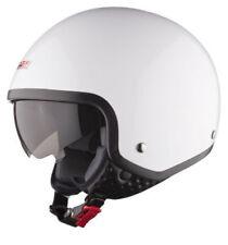 Caschi casco aperti apertura veloci bianchi per la guida di veicoli