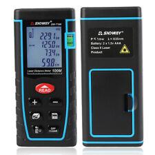 100m Handheld Digital Meter Laser Distance Range Finder Measure Diastimeter Tool