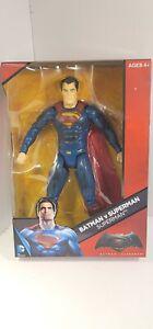 """New DC Comics Multiverse Batman vs Superman 12"""" Superman Figure"""