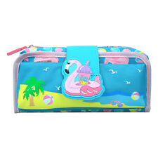 Smily kiddos | Fancy Strap Pencil Case (Light Blue) | kids Pencil case