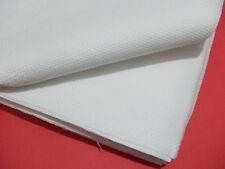 1mt tela aida da ricamare H 150 cm 44 fori colore bianco punto croce